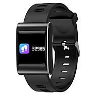 tanie Inteligentne zegarki-Inteligentny zegarek STk88plus na Android 4.3 i nowszy / iOS 7 i nowsze Pulsometr / Pomiar ciśnienia krwi / Spalone kalorie / Długi czas czuwania / Ekran dotykowy Stoper / Krokomierz / Powiadamianie