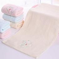 billiga Handdukar och badrockar-Överlägsen kvalitet Tvätt handduk, Tecknat Polyester / Bomull Blandning 1 pcs