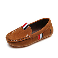 baratos Sapatos de Menino-Para Meninos Sapatos Couro Ecológico Verão Conforto Rasos Caminhada para Infantil Amarelo / Marron / Vinho