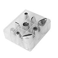 billige Bakeredskap-Bakeware verktøy Aluminium / Rustfritt Stål Ny ankomst / 3D / GDS Dagligdags Brug / For kjøkkenutstyr / Originale kjøkkenredskap Dessertverktøy 9pcs