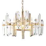 billiga Belysning-LWD 8-Light Kristall Ljuskronor Glödande - Kreativ, stearinljus stil, 110-120V / 220-240V Glödlampa inte inkluderad / 15-20㎡