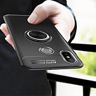 billiga Mobil cases & Skärmskydd-fodral Till Xiaomi Mi 8 / Mi 6X Ringhållare Skal Enfärgad Mjukt TPU för Xiaomi Mi Mix 2 / Xiaomi Mi Mix 2S / Xiaomi Mi 8