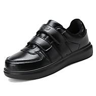 baratos Sapatos de Menino-Para Meninos Sapatos Couro Ecológico Primavera Conforto Tênis para Branco / Preto