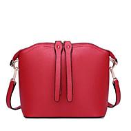 tanie Torby na ramię-torebki damskie skórzane torby na ramię nappa zipper wine / red / black