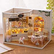 Dukkehus Kreativ med LED lys Kage 1 pcs Stk. Børne Legetøj Gave
