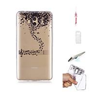 billiga Mobil cases & Skärmskydd-fodral Till Huawei Mate 10 Genomskinlig Skal Geometriska mönster Mjukt TPU för Mate 10