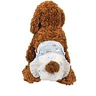 Χαμηλού Κόστους Προϊόντα φροντίδας σκύλων-Σκυλιά Καθαρισμός Σετ Καλλωπισμού / Καθαριστικά Φορητό / Διατηρείτε Ζεστό / Πτυσσόμενο Λευκό