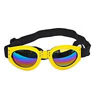 Hunde / Kaniner / Katte Solbriller Hundetøj Pailletter Rød / Blå / Lys pink Plast Kostume For kæledyr Sport og udendørs / Mode