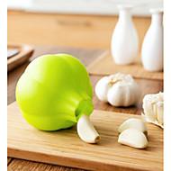 billige Køkken Redskaber-Køkken Tools Silikone Køkken Redskaber Kreativ Køkkengadget Hvidløgsredskaber / Skræller Hvidløg 1pc