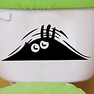 Klistermærker & Tape Nyt Design / Simple / Selvklæbende Normal / Moderne / Nutidig PVC 1pc Badeværelse dekoration