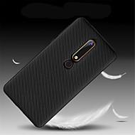 billiga Mobil cases & Skärmskydd-fodral Till Nokia Nokia 7 Plus / Nokia 6 2018 Ultratunt Skal Enfärgad Mjukt TPU för Nokia 9 / Nokia 8 / Nokia 7
