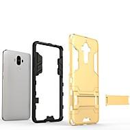 billiga Mobil cases & Skärmskydd-fodral Till Huawei Mate 9 med stativ Skal Enfärgad Hårt PC för Mate 9