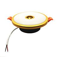 billige Innfelte LED-lys-1pc 10 W 2 LED perler Lett installasjon Nedfellt Trefarget Led-Nedlys 85-265 V Hjem / kontor Stue / spisestue Soveværelse