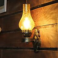 billige Vegglamper-Kreativ / Kul Retro Rød Vegglamper Stue / Soverom Metall Vegglampe 220-240V 40 W