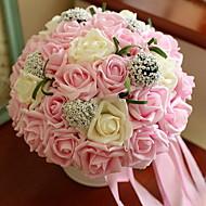 billige Kunstige blomster-Kunstige blomster 11 Gren Klassisk Bryllup Hortensiaer Bordblomst