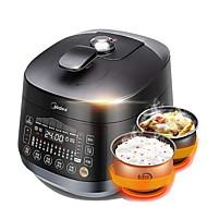 billiga Kök och matlagning-Tryckkokare Ny Design / Multifunktion PP / ABS + PC Mat Ångkokare 220-240 V 1000 W Köksmaskin