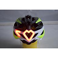 หมวกกันน็อคจักรยาน 24 Vents การระบายอากาศ กีฬา ออกกำลังกายกลางแจ้ง ปั่นจักรยาน / จักรยาน รถมอเตอร์ไซด์ - สีดำ สีเขียว ทุกเพศ