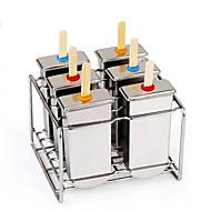 billige Bakeredskap-Bakeware verktøy Rustfritt Stål Kreativ Kjøkken Gadget / GDS Is / kjærlighet på pinne Dessertverktøy 1pc