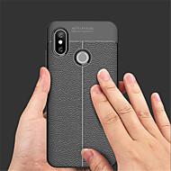 billiga Mobil cases & Skärmskydd-fodral Till Xiaomi Mi 8 / Mi 8 SE Läderplastik Skal Enfärgad Mjukt PU läder för Xiaomi Mi Mix 2 / Xiaomi Mi Mix 2S / Xiaomi Mi 8 / Xiaomi Mi 6