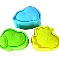 billige Bakeredskap-Bakeware verktøy Plast Søtt / GDS Til Småkake / For Ris / For Godteri Cake Moulds / Dessertverktøy 3pcs