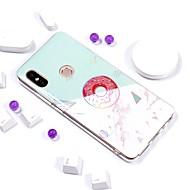 billiga Mobil cases & Skärmskydd-fodral Till Xiaomi Redmi Note 5 Pro / Redmi 5 Plus Plätering / IMD / Mönster Skal Marmor Mjukt TPU för Xiaomi Redmi Note 5 Pro / Redmi 5A / Xiaomi Redmi 5 Plus