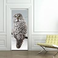 Dekorative Mur Klistermærker / Dørklister - Holiday Wall Stickers Dyr / 3D Stue / Soveværelse