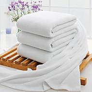 baratos Toalha de Banho-Qualidade superior Toalha de Banho, Sólido Poliéster / Algodão 3 pcs