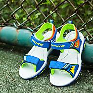tanie Obuwie chłopięce-Dla chłopców Obuwie PU Lato Comfort Sandały na Dzieci Orange / Granatowy