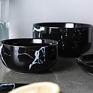 billiga Bordsservis-1 st Serverings- och salladsskål Djupa tallrikar Skålar & Vattenflaskor servis Porslin Keramisk Värmetålig Ny Design Kreativ