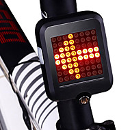 cheap -Tail Lights LED Cycling New Design / Waterproof / Lightweight Lithium Battery 80 lm Lumens Red Cycling / Bike