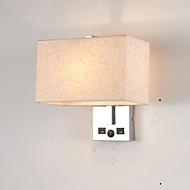 baratos Arandelas de Parede-Novo Design Moderno / Contemporâneo Luminárias de parede Quarto / Quarto de Estudo / Escritório Metal Luz de parede 85-265V 40 W