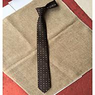tanie Akcesoria dla mężczyzn-Męskie Imprezowa / Do biura Krawat Prążki