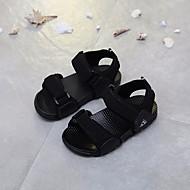 baratos Sapatos de Menino-Para Meninos Sapatos Couro Sintético Verão Conforto Sandálias para Preto / Cinzento / Vermelho