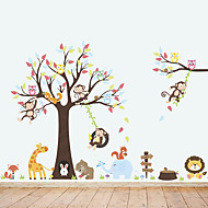 Decorative Wall Stickers - Animal Wall Stickers Animals Living Room / Bedroom / Bathroom