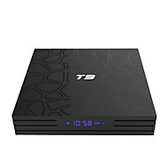cheap TV Boxes on Sale-PULIERDE T9 TV Box Android 8.1 TV Box RK3328 4GB RAM 32GB ROM Quad Core New Design
