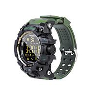 olcso -Intelligens Watch EX16S mert iOS / Android Vízálló / Elégetett kalória / Hosszú készenléti idő / Kreatív / Új design Dugók & Töltők / Lépésszámláló / Hívás emlékeztető / Testmozgásfigyelő / Naptár