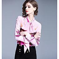 Dame - Geometrisk Basale Skjorte