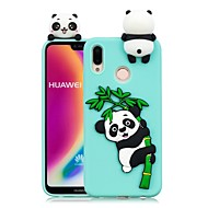 Etui Til Huawei P20 Pro / P20 lite GDS Bagcover Panda Blødt TPU for Huawei P20 / Huawei P20 Pro / Huawei P20 lite / P10 Lite / P10