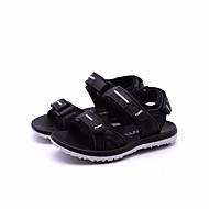 baratos Sapatos de Menino-Para Meninos Sapatos Pele Verão Conforto Sandálias para Branco / Preto