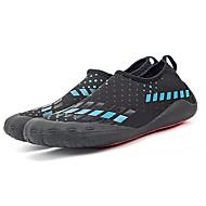 baratos Sapatos Masculinos-Homens Couro Ecológico Verão Conforto Tênis Água Preto / Branco / Preto / Black / azul