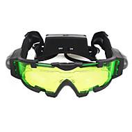 X Night Vision Goggles Vandtæt / Justerbar / Beskyttet mod tåge Sort Campering & Vandring