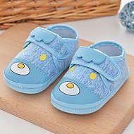 baratos Sapatos de Menino-Para Meninos / Para Meninas Sapatos Algodão Primavera & Outono Primeiros Passos Tênis Velcro para Bebê Azul / Rosa claro