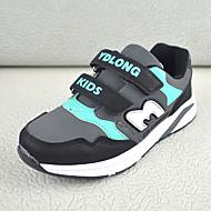baratos Sapatos de Menino-Para Meninos Sapatos Couro Sintético Primavera / Outono Conforto Tênis Velcro para Infantil Cinzento / Azul / Rosa claro