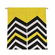 billige Gardiner ogdraperinger-Dørpanelet Gardiner Gardiner Spisestue Geometrisk Polyester Trykket