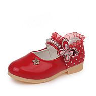 baratos Sapatos de Menino-Para Meninos Sapatos Couro Ecológico Primavera Verão Conforto / Sapatos para Daminhas de Honra Rasos Caminhada para Adolescente Fúcsia / Vermelho / Rosa claro