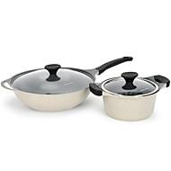 billiga Kök och matlagning-Köksredskap Rostfritt stål / järn Snabbhet Pot Vardagsanvändning / För köksredskap 2pcs