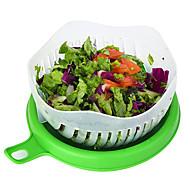 baratos Utensílios de Fruta e Vegetais-Utensílios de cozinha PP Novo Design / Multifunções / Gadget de Cozinha Criativa Cesto de frutas / Salad Tools Multifunções / Vegetais / Para utensílios de cozinha 1pç