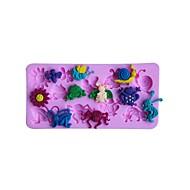billige Bakeredskap-Bakeware verktøy Silikon 3D / Kreativ Kjøkken Gadget Sjokolade / For Godteri Dessertverktøy 1pc