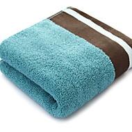baratos Toalha de Banho-Qualidade superior Toalha de Banho, Geométrica 100% algodão Banheiro 1 pcs