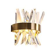 baratos Arandelas de Parede-QIHengZhaoMing Cristal LED / Moderno / Contemporâneo Luminárias de parede Lojas / Cafés / Escritório Metal Luz de parede 110-120V / 220-240V 10 W